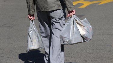 There has been at least a 70 per cent drop in plastic bag litter since the introduction of the ban.