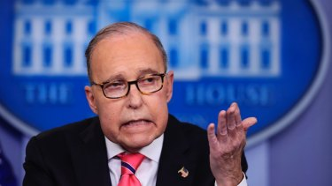Donald Trump's senior economic adviser, Larry Kudlow says China's agreement was ''stuff they're going to look at.''