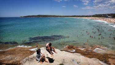 Sydney will see a maximum of 36 degrees on Saturday, with western Sydney reaching its peak a day earlier with 43 degrees on Friday.
