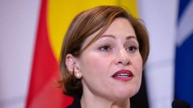 Member for South Brisbane Jackie Trad is incensed by derogatory Twitter language used by the secretary of the South Brisbane branch of the Greens.