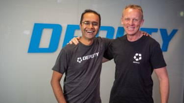 Deputy founders Ashik Ahmed and Steve Shelley.