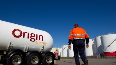 Origin Energy will wipe up to $1.2 billion off the value of its assets.