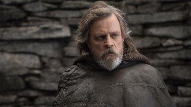 Mark Hamill as Luke Skywalker in Star Wars.