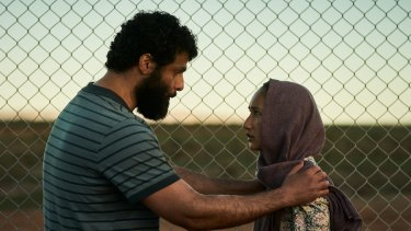 Fayssal Bazzi and Soraya Heidari in Stateless.