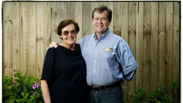 Opposition Leader Bill Shorten and his mother Ann, pictured in 2005.