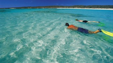 Ningaloo Reef. The IPCC predicts a 70-90 per cent loss of coral reefs at 1.5C warming, and virtually total loss at 2C.
