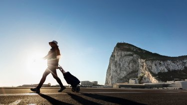 Gibraltar: a sticking point with Spain.