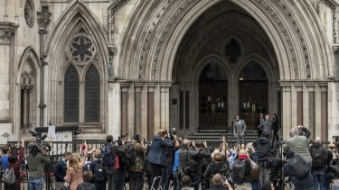 The trial, heard at the Royal Courts of Justice in London over three weeks in July, was thought to be the biggest libel case in British history.