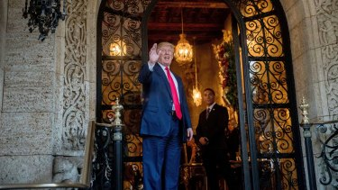 Donald Trump eventually banned Epstein from his Mar-a-Lago resort in Florida.