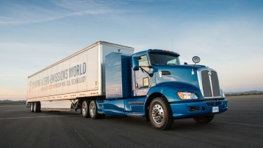 Toyota's Project Portal hydrogen fuel cell truck is now in trials.
