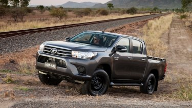 The Toyota HiLux is one of the best-selling vehicles in Australia, but the NRMA says drivers had 11 years to worry about the transition to electric vehicles.