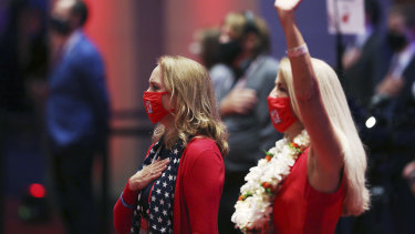 Delegates at the Republican National Convention in Charlotte in August.