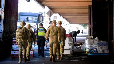 Australian Defence Force personnel are now involved in Victoria's pandemic response.