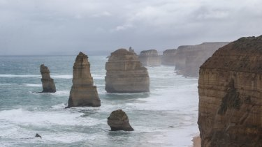 The Twelve Apostles, Victoria's iconic sea stacks.