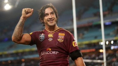 Maroons and Cowboys legend Johnathan Thurston has taken on a new role helping Queenslanders prepare for disasters.
