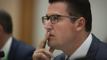 Plenty to ponder: Zed Seselja backed Peter Dutton in the leadership spill.