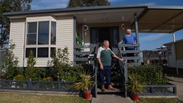 Australia's ageing population is intent on downsizing to desirable coastal locations.