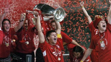 Liverpool last won the Champions League in 2005.