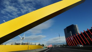 Transurban's Citylink in Melbourne. The group says lockdowns in Australia's three largest cities each cost it up to $12 million per week.