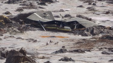 Samarco's Fundao tailings dam failed on November 5, 2015, burying farmhouses and entire villages.