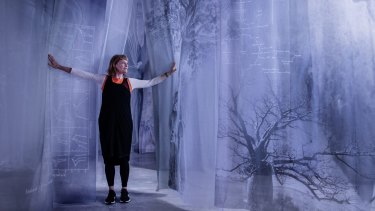 Artist Janet Laurence and her installation After Nature at the MCA last year.