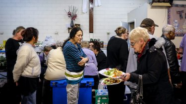 A transit soup kitchen in Melbourne's south-eastern suburbs.