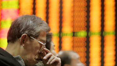 Hong Kong-listed Chinese stocks plunged as much as 10 per cent on Tuesday.