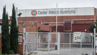 Cedar Meats in Brooklyn has closed its doors for extensive cleaning, while its staff remain isolated.