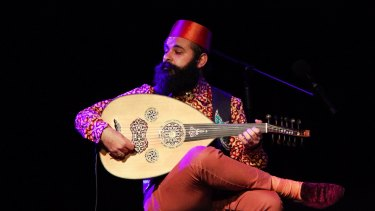 Joseph Tawadros: pared-back sonic moonlight.