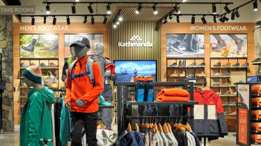 Outdoor and adventure clothing chain Kathmandu has maintained a pessimistic outlook on Australia's retail sector.