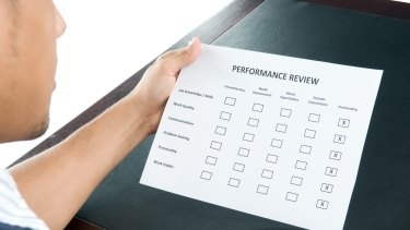 How do I deal with my next performance review?