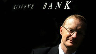 The RBA Governor, Phil Lowe, says interest rates must remain low.
