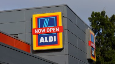 Aldi could double its share of the Australian supermarket sector in the next 10 years.