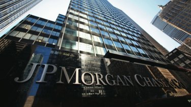 JP Morgan's March quarter results disappointed investors.