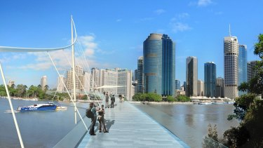 The business case for Kangaroo Point Bridge will commence in 2018-19.