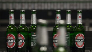 Asahi Beverages has told the competition watchdog it will offload the premium beer brand Beck's as it seeks approval to buy beer giant CUB.