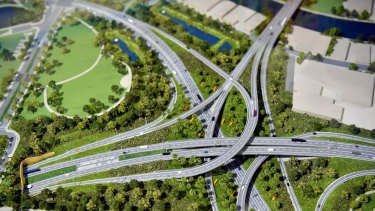 The City of Sydney Council says the St Peters interchange will funnel 120,000 vehicles a day onto local roads.