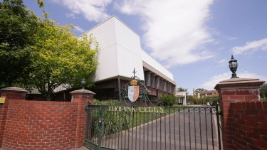 Firbank Grammar School charges tuition fees of more than $18,000 in prep.