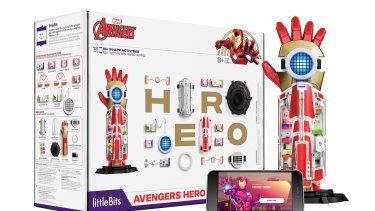The Hero Kit is a fun toy as well as a tool for learning the basics of code.