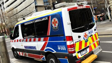 Ambulance Victoria is attending about 200 calls a day for people claiming COVID-19 symptoms