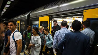 Passengers have been warned to expect delays on five Sydney train lines on Monday morning