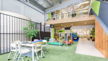 The Clifton Hill childcare centre in inner-north Melbourne is owned by Arena REIT.