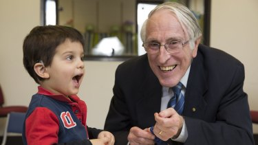 Professor Graeme Clark invented Cochlear implants in the 1970s.