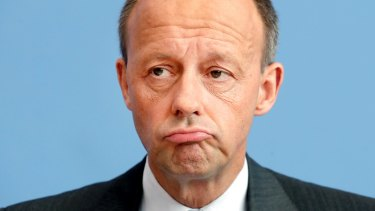 Friedrich Merz, member of the German Christian Democratic Party, is one of three high-profile candidates vying to become leader of the Angela Merkel's Christian Democratic Union.