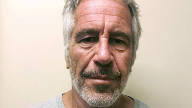 Jeffrey Epstein at the time of his arrest in 2017.