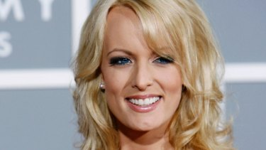 Adult film actress Stormy Daniels was paid $130,000 in hush money by Michael Cohen.