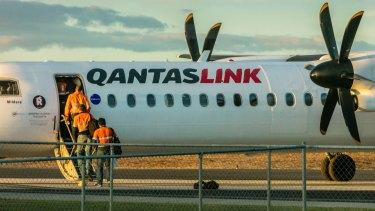 Alliance Aviation competes with Qantas primarily on regional routes and fly-in, fly-out services for the resources sector.
