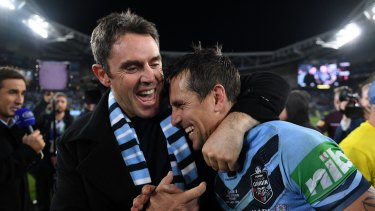 Mitchell Pearce backed up the words he pledged to Fittler before the decider.