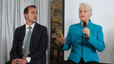 Many believe Dave Sharma can deliver Wentworth back to the Liberals after Malcolm Turnbull's ousting.