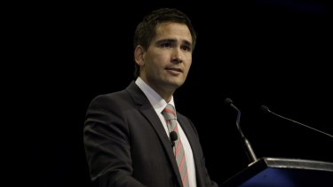 NZ Opposition leader Simon Bridges, pictured, has called on the head of Treasury and Finance Minister to resign.